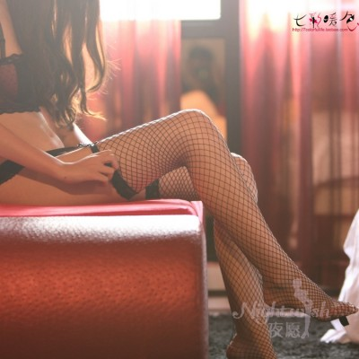 蕾丝长筒网袜性感诱惑网袜丝袜情趣内衣WZ7005
