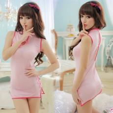 性感透明古典旗袍短裙女式情趣内衣套装MMYH8960