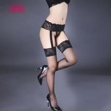 情趣内衣 性感蕾丝绣花连体丝袜吊袜带 情趣配件