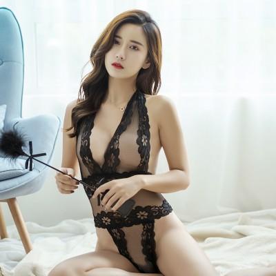 性感透明连体衣女式情趣内衣套装制服诱惑NY9129