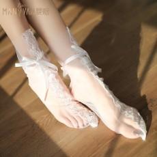 曼烟情趣内衣女透视堆堆袜仙女袜配件礼品1298