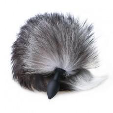 硅胶狐狸毛肛塞尾巴套装成人情趣用品另类玩具3538