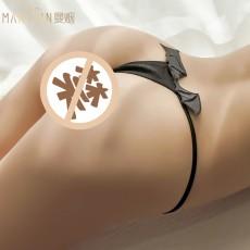 【天猫】曼烟情趣内裤天使恶魔T裤8253