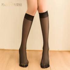 【天猫】曼烟情趣内衣性感柔软弹力透视半筒美腿袜情趣丝袜7135