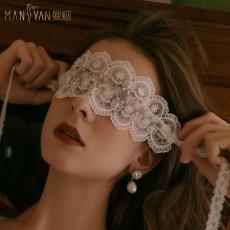【天猫】曼烟性感透视蕾丝飘带仙女眼罩情趣配饰9878