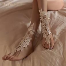【天猫】曼烟性感系带蕾丝束口镂空袜情趣丝袜情趣配饰7150