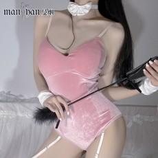 【天猫】网红风情趣内衣性感吊带兔女郎连体衣套装制服诱惑1767