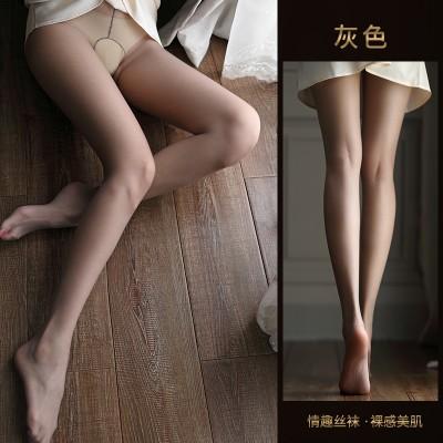 【天猫】曼烟0D一线裆全透明开档情趣丝袜 女薄连裤袜免脱7149