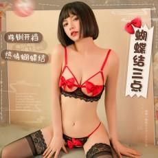 【天猫】曼烟情趣内衣性感三点套装9909