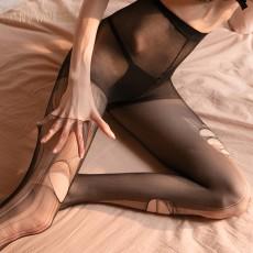 【天猫】曼烟情趣丝袜性感镂空破洞可手撕丝袜高腰连裤袜诱惑WZ7230