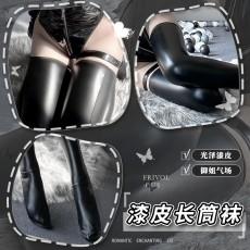 【天猫】曼烟情趣内衣 性感修饰漆皮长筒袜 诱惑搭配制服套装 WZ7171
